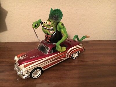 Matco Tools Rat Fink 1950 Oldsmobile Muscle Machine Car BANK Free Shipping