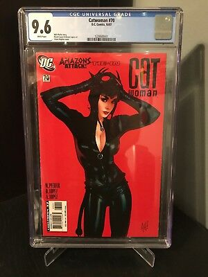 Catwoman #70 CGC 9.6 [ Rare Issue ] Adam Hughes Cover