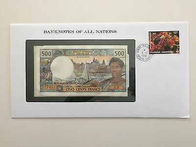 Banknotes of All Nations – French Polynesia 500 francs UNC A.3