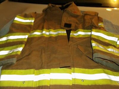 Globe Fire Fighter Protective Coat - For Structural Fire Fighting - Size 38