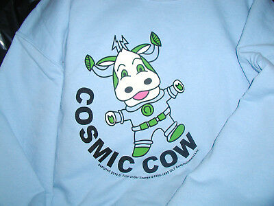 Too Close For Comfort Cosmic Cow FUN Sweatshirt XL Ted Knight Lydia Cornell Prop