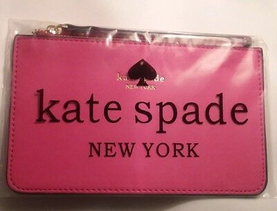 NWT Kate Spade New York Safiano Wristlet Wallet Clutch Iphone  Pink