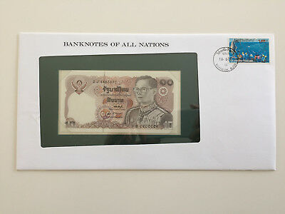 Banknotes of All Nations - Thailand - 10 Baht - UNC