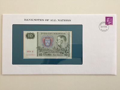 Banknotes of All Nations - Sweden - 10 Kronor - UNC