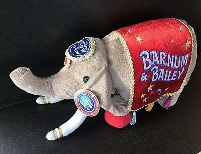 Ringling Bros Barnum and Bailey Circus Elephant Stuffed Plush 2001 Edition