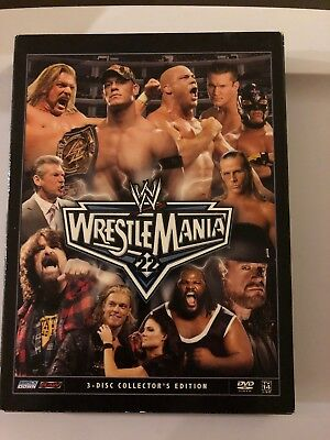 Dvd  Wwe 3-Disc Collectors Edition Wrestlemania 22