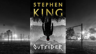 The Outsider: A Novel by Stephen King- Free Shipping(2018, Hardcover)-NEW