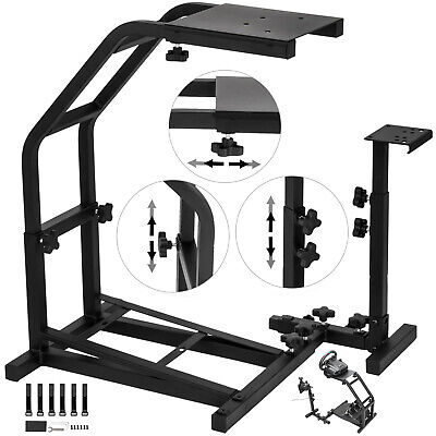 Racing Simulator Steering Wheel Stand for Logitech G27 and G25 Adjustable