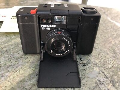 Used Minox MB Film Camera With Box And Papers