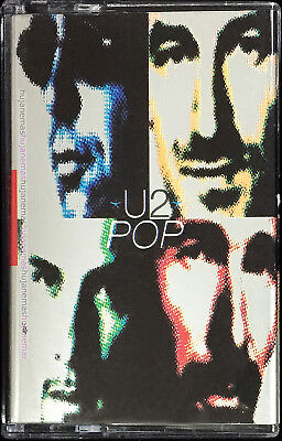 U2 Pop 1999 MALAYSIA EDITION CASSETTE VERY RARE NEW SEALED