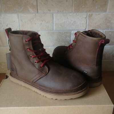04093857ed3 UGG HARKLEY GRIZZLY Waterproof Leather Chukka Boots Shoes Size US 12 ...