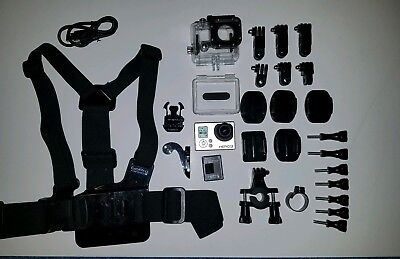 GoPro HERO 3 Silver Edition Bundle Battery and more