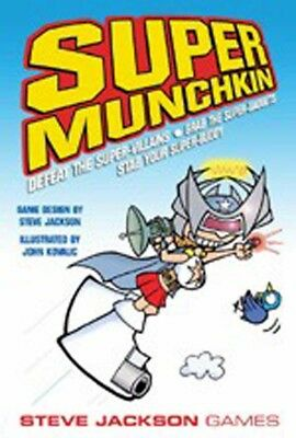 Super Munchkin Card Game Steve Jackson Games