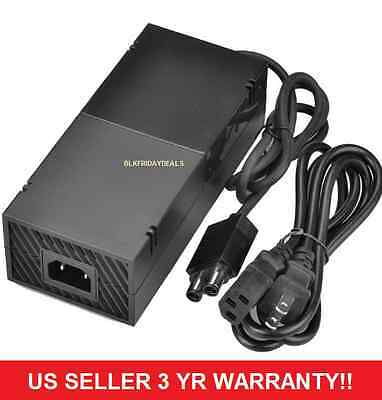 H59 Xbox One 200W AC Adapter Charger Power Supply Cord Cable Microsoft Console