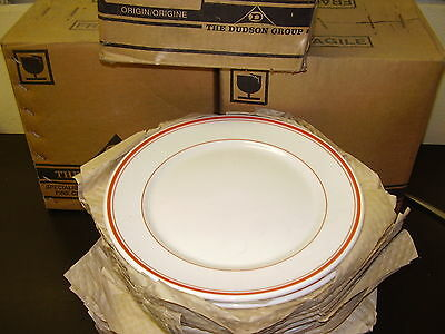 "Dudson Hotelware.   9""    Plates    X    12  Brand New!!!!!!"