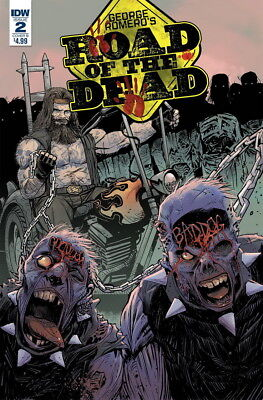 Road Of The Dead Highway To Hell (2018 Idw) #2 Variant Cvr B Moss Nm B7K79Q