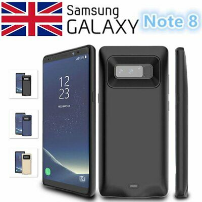 For Samsung Galaxy Note 8 S9+ 8000mah External Battery Charge Case Power Bank UK