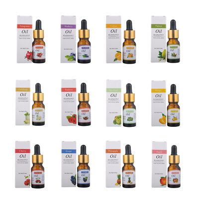 10ml Essential Oils Pure Natural Aromatherapy Oils Choose Fragrance Aroma Flower