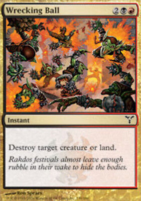 4 Wrecking Ball ~ Near Mint Dissension 4x x4 Playset UltimateMTG Magic Multi-Col