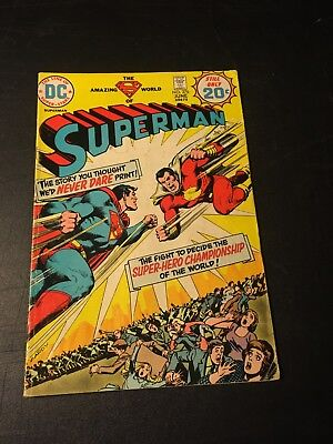 Superman 276 (Jun 74 Dc) 1St App Captain Thunder Willie Fawcett Nick Cardy Vgfn!