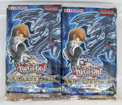24x YUGIOH DUELIST PACK KAIBA (DPKB) UNSEARCHED FACTORY SEALED BOOSTER PACK LOT*