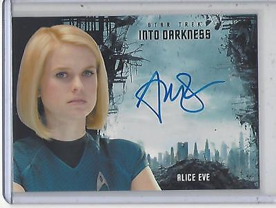 Star Trek Beyond Movie (2017) Alice Eve autograph