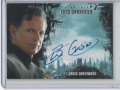 Star Trek Beyond Movie (2017) Bruce Greenwood autograph