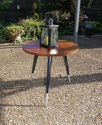VINTAGE PETITE TABLE RONDE TRIPODE GUERIDON small round table