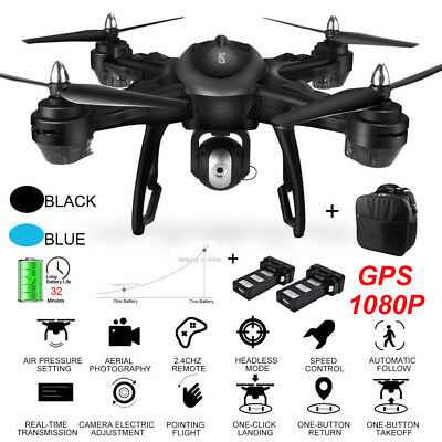 LH-X38G Dual GPS FPV With 1080P HD Camera Wifi RC Drone Quadcopter + Backpack U