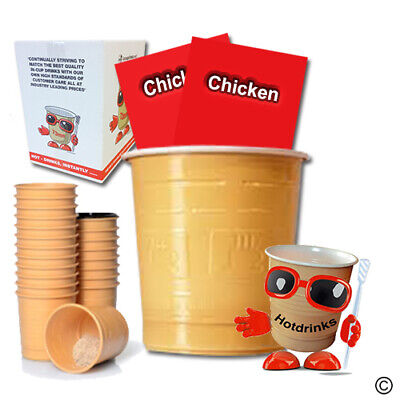 Chicken Soup, In Cup, Incup Drinks for 73mm Vending [Sleeve of 25 Cups]