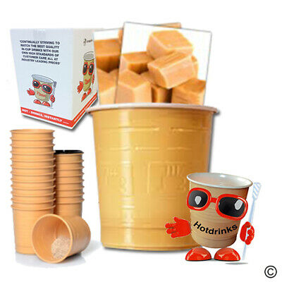Caramel Cappuccino, In Cup, Incup Drinks for 73mm Vending [Sleeve of 25 Cups]