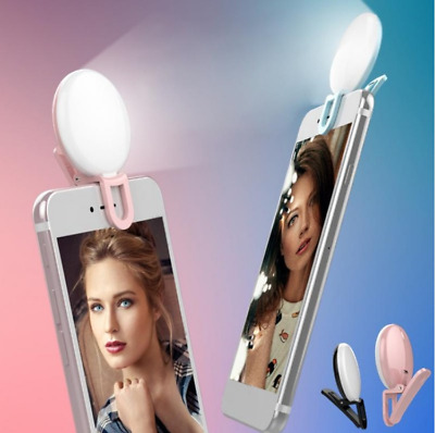 Flash Led Camera Mobile phone Selfie ring light video Enhancing Fill Light