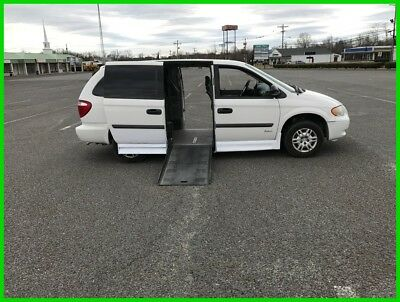 2007 Dodge Grand Caravan SE VAN WHEELCHAIR HANDICAP DODGE CARAVAN 2007 SIDE ENTRY RAMP  Used 3.3L V6 12V