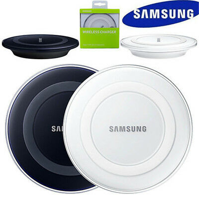 For SAMSUNG GALAXY Note 9 S9 S8 S7 S6 iPhone Qi Wireless Charger Charging Pad