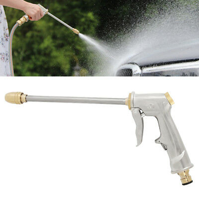 Pressure Spray Washing Gun Soap Dispenser Watering Hose Nozzle Car Garden Tool