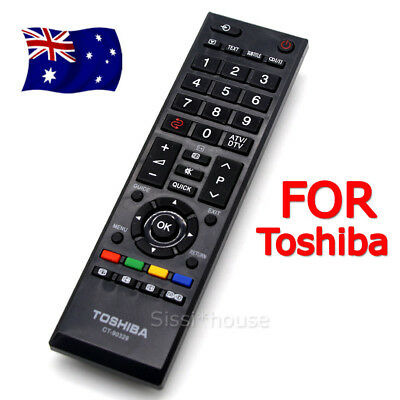 New OEM Toshiba Remote Control CT-90329 LCD RV700A RV600A RV550A TV Replacements