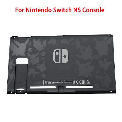 Black Replacement Back Plate Case Housing Cover Shell for NS Switch NS Console