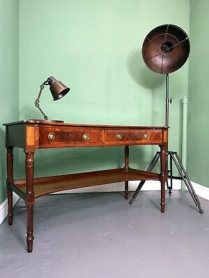 An Antique Victorian Mahogany Hall Table Dressing Table Desk ~Delivery Available