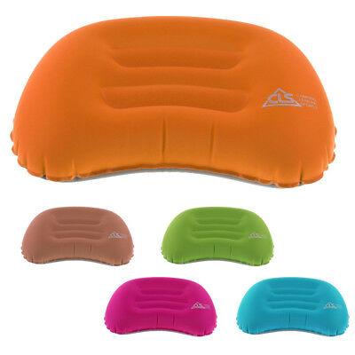 Ultralight Portable Air Inflatable Pillow Infltating Cushion Camping Travel