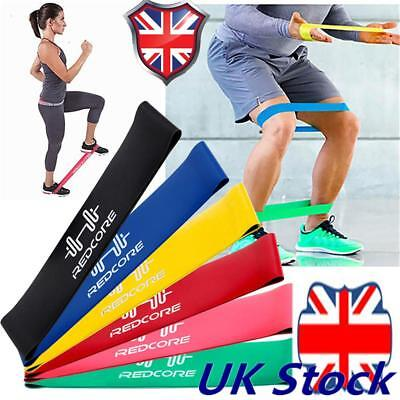1pcs Resistance Bands Loop Set Exercise Sports Fitness Sport Gym Yoga Latex Home