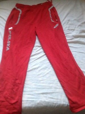 TRACKSUIT BOTTOMS  POLAND 2012 OLYMPICS + Free scroll
