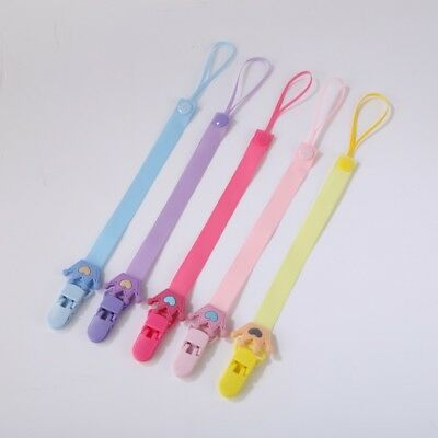 Toddler Infant Baby Kids Soother Clips Dummy Clip Chain Holder Pacifier Strap UK