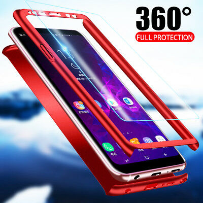 For Samsung Galaxy Note 9 S9+ 360° Full Body Shockproof Hybrid Hard Case Cover