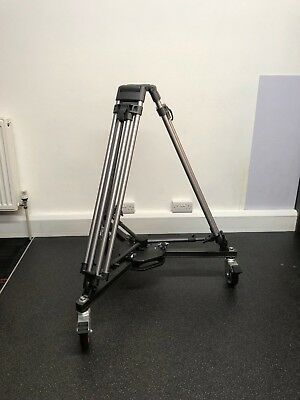 Professional Video Tripod & Wheeled Dolly