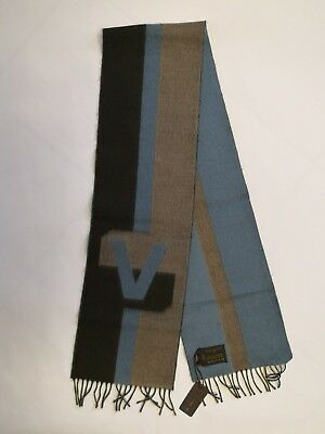 534cffc7397 Authentic Louis Vuitton V Historique Brun Scarf New With Tags R.p. 450£  Rare!