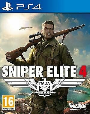 Video Gioco Sony Ps4 Sniper Elite 4 Multilingue Italiano