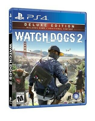 Video Gioco Sony Ps4 Watch Dogs 2 Deluxe Edition Multilingue Italiano
