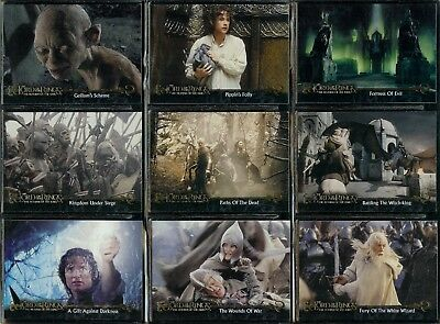 Lord Of The Rings Return Of The King - For Sale Is A Topps 2003 Trade Card Set
