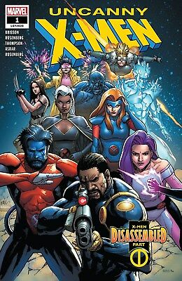 Uncanny X-Men #1 (2018) 1St Print Yu Main Cover Bagged & Boarded ($7.99)