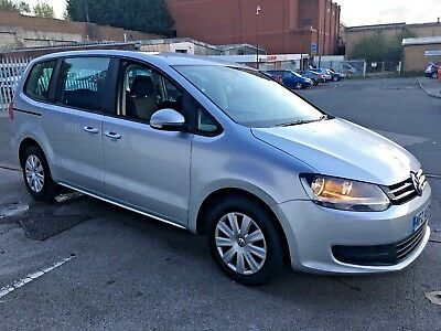 2013 Volkswagen Sharan S Bluemotion 2.0 Tdi 7 Seater No Reserve Mpv